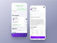 Signals mobile app dribbble