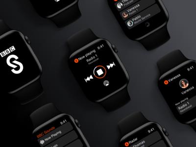 BBC Sounds - Apple Watch (WatchOS) App
