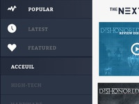 Thenexties tv responsive menu