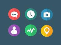 [FREEBIE] Flat Icons (.psd/.sketch)