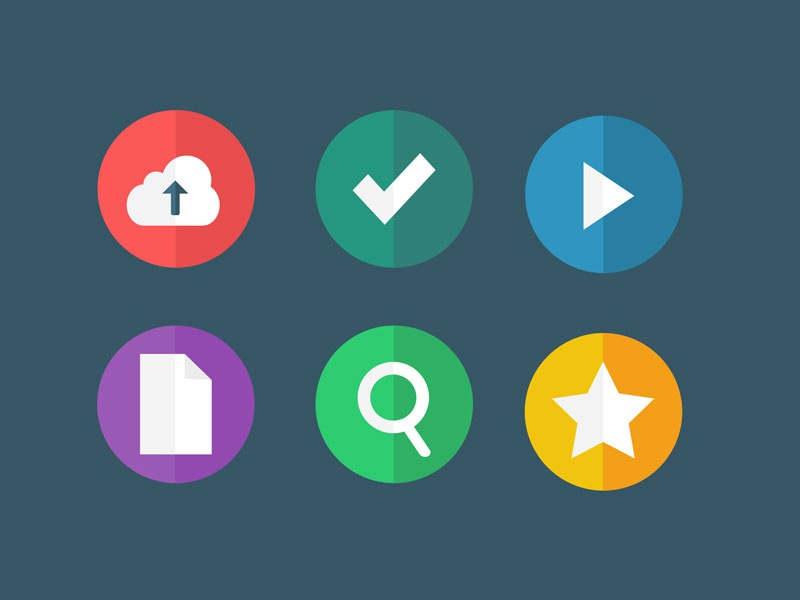 [FREEBIE] Flat Icons - Part 2 (.psd/.sketch) freebies sketch sketch app free psd freebie camera skeuo glyphs illustration flat icons ux ui check document play cloud upload