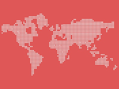 [FREEBIE] Vector dotted world map (.psd) ui ux webdesign freebie free psd psd vector fully scalable dotted world map map