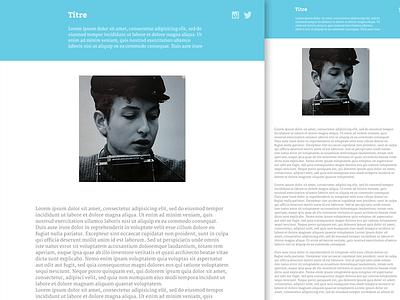 Slurp - Tumblr template template tumblr theme freebie ui ux webdesign flat blog