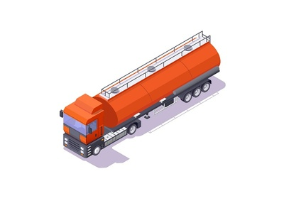 track vector design low-poly lowpoly 3d isometric cartoon concept fuel oils car tracker tracks illustration