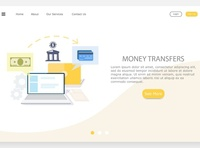 transfer money from computer