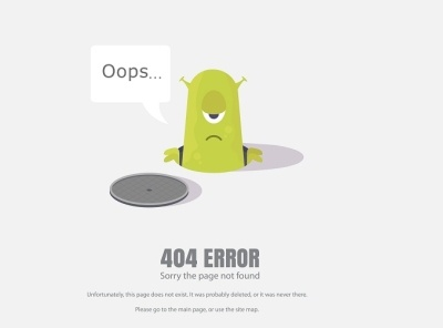 Oops   404 error problems 404 page pages errors 404 oops sorry communication flat cartoon web concept icon design vector illustration