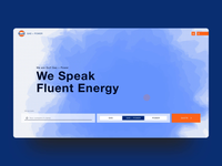 Gulf Gas + Power home page animation