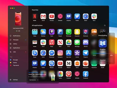macOS Vibe 2021 mac starbucks gura nicholson user interface 3d icons 3d ios icons caramel caramel icons iphone 12 iphone 12 pro iphone m1 macos big sur mac os dark mode dark mode dark black macosx macos