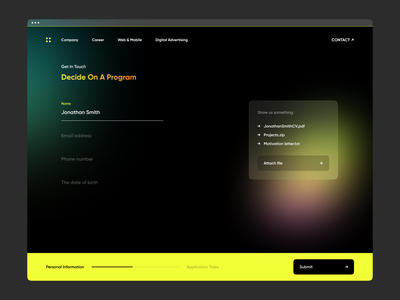 Miami ad school tbilisi - Get in touch education application art direction courses ad school school get started colorfull gradient forms user interface 2021 gura nicholson dark more dark theme website design website miami ad school tbilisi miami ad school tbilisi miami ad school get in touch