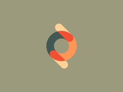 An Exploration of Color brand designer media events connected interlocking symbol mark identity logo branding