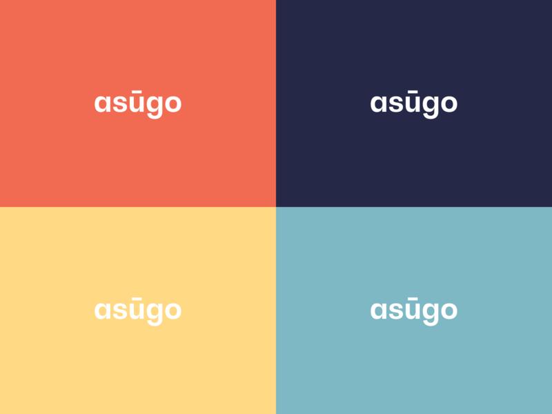 Asugo Travel color travel app travel startup travel company brand identity logo branding