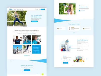 Cirkul Homepage wellness health beverage drink ui  ux shopify website ecommerce ui design web design website ui