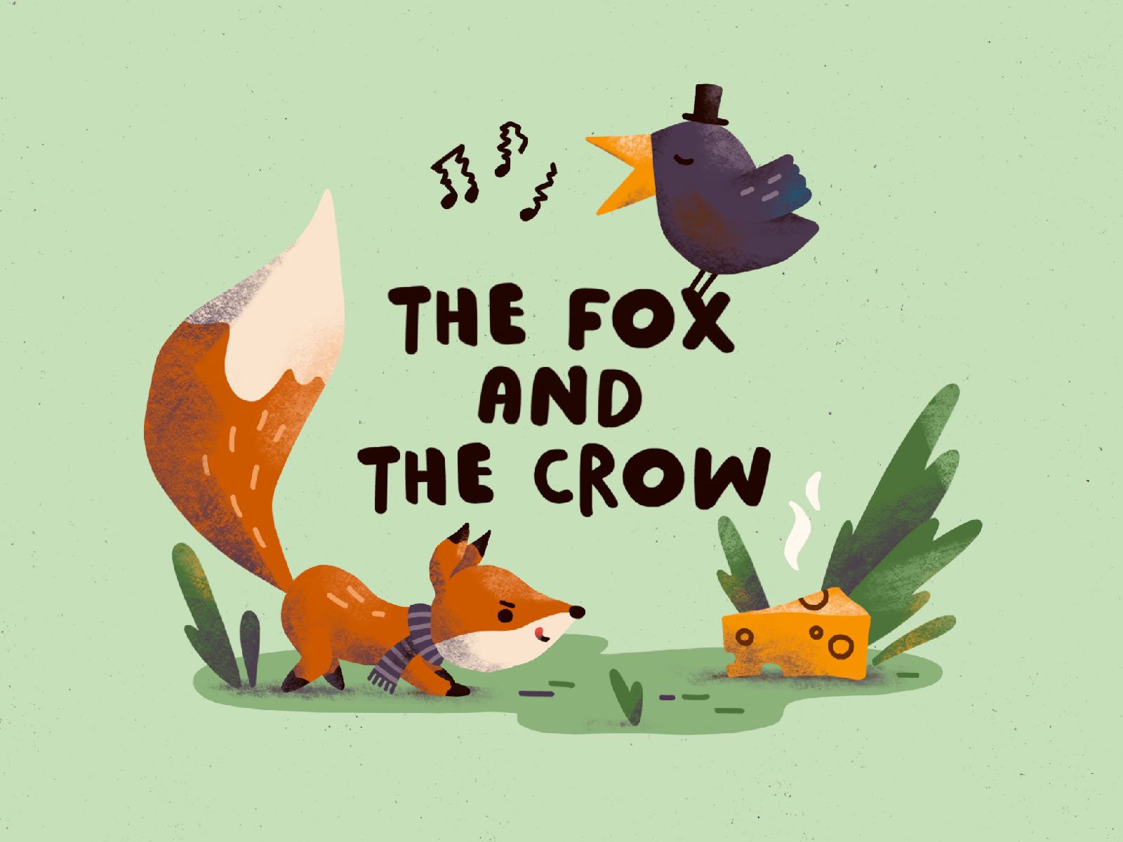 The Fox and the Crow cover