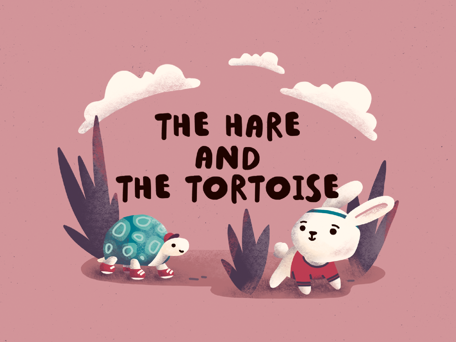 The Hare and the Tortoise cover