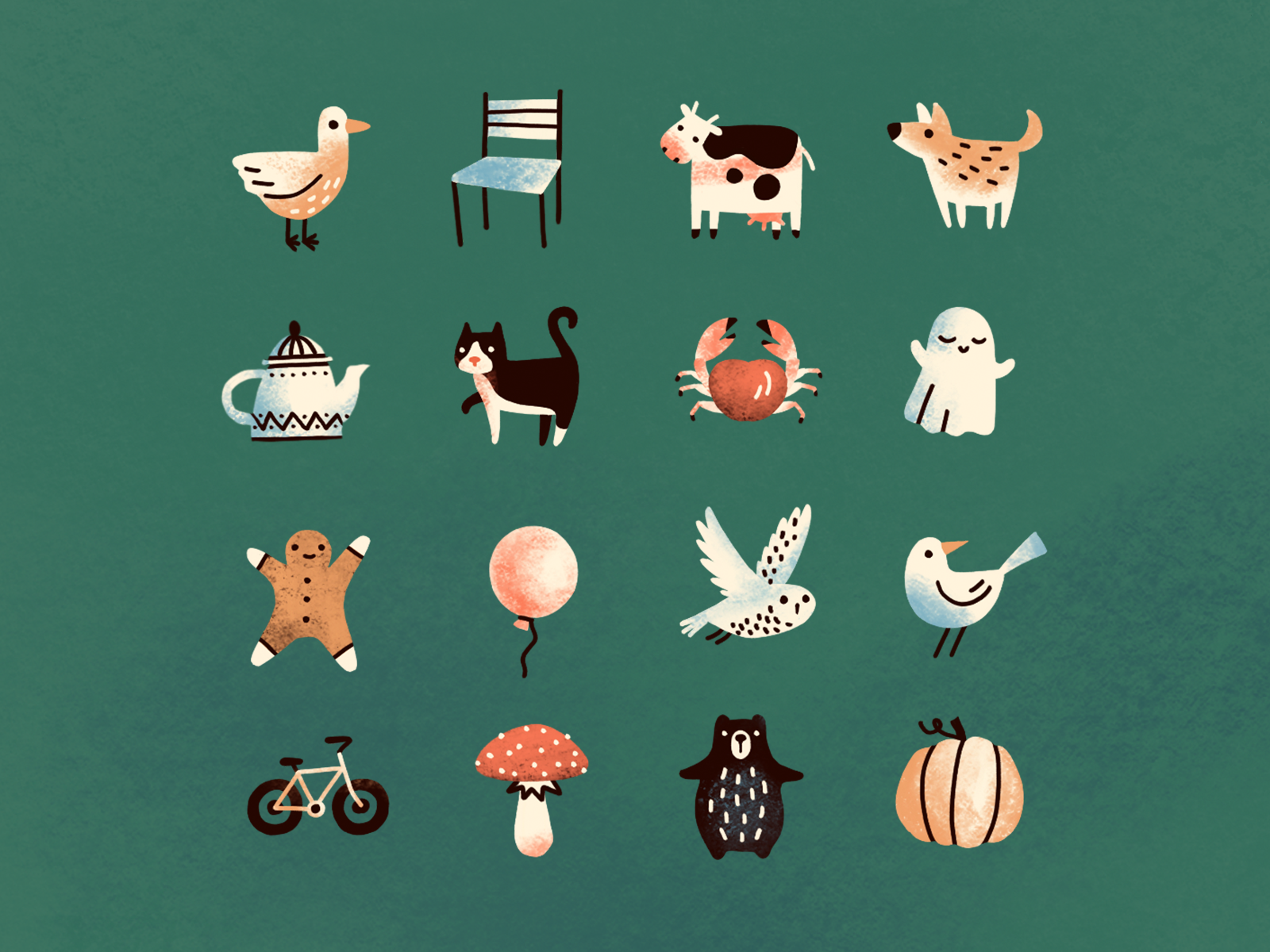 A bunch of game assets