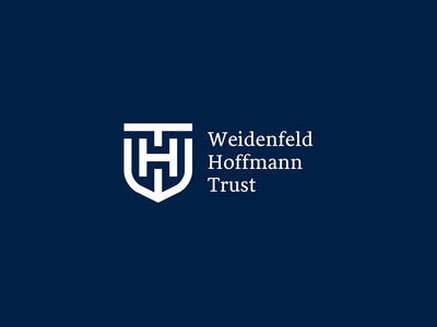 Weidenfeld Hoffmann Trust lord scholarship organization british visual  identity hoffmann logo trust weidenfeld