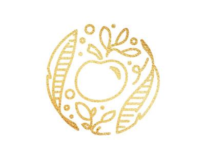 Golden Apples blog logo branding