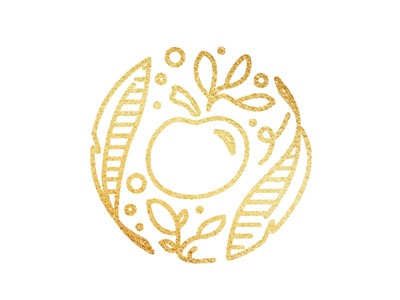 Golden Apples blog logo branding