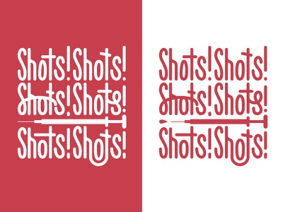 Shots Shirt grid medical custom-type hand-type typography