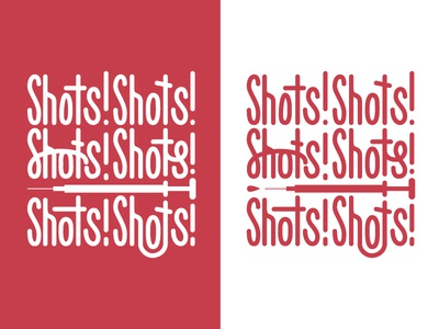 Shots Shirt grid medical custom-type hand-type typography
