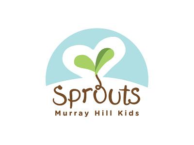 Sprouts Kids Logo kids logo branding