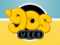 '90s Week Logo