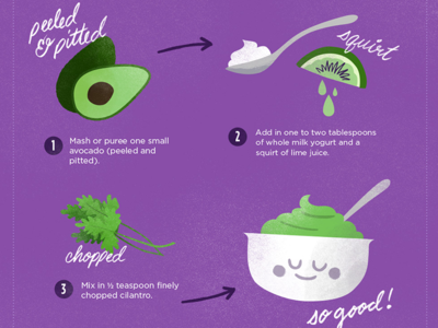 Baby Food Recipes Infographic