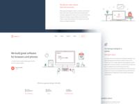 Digital agency - homepage