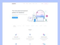 Payment Platform Homepage