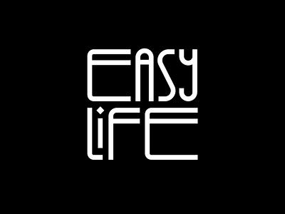 Easy Life artwork minimalism simplicity branding logo icon pictogram illustration graphic meanimize easylife