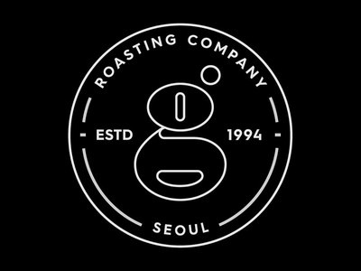 Roasting company logo logodesign visualidentity simplicity pictogram branding