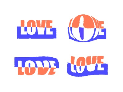 Half Love vector minimalism simplicity branding pictogram meanimize graphic logoinspiration typography visualidentity love