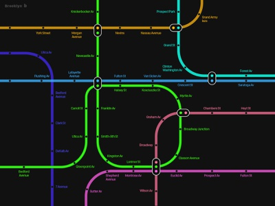alphabet b maps pictogram illustration meanimize branding graphic subway infographic typography mapdesign