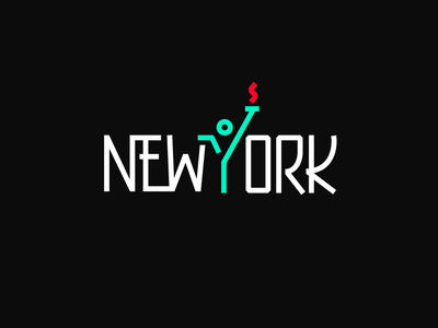 New york logodesign identity minimalism simplicity branding logo illustration meanimize graphic newyork