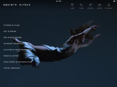 Equinox Hotel App
