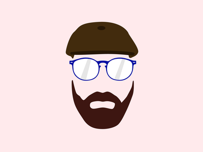 The Essentials illustration illustrator beard