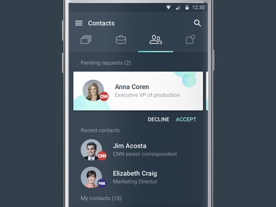 Cimply - your contacts