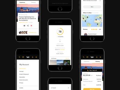 TWIP - mobile screens