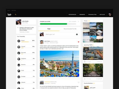 TWIP - user's feed