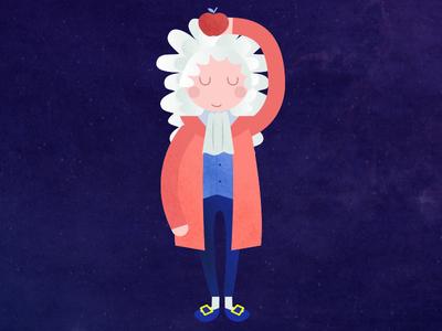 I for Isaac Newton