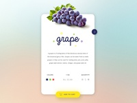 Grape Card Design