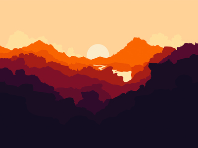 Close Colour illustration firewatch olly moss close colour illustration