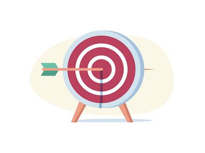 Target logo illustrator vector illustration bullseye achievements aim dart darts dartboard target