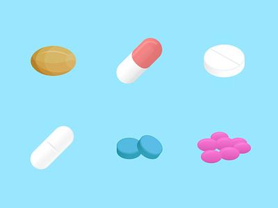 Medication illustrated pill vector app healthcare app medicine pills healthcare health medication tablets illustration