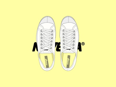 Novesta Star Master slovakia clothing digital illustration drawing sneakers plimsoll footwear novesta star master shoe illustration shoes novesta branding poster logo brand design illustrator vector illustration