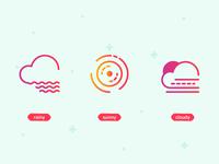 Weather UI Icons