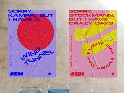 Posters design hot geometry form figure color circle app sculpture glitch