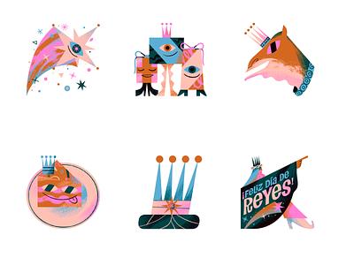 MASS SNAP - Three Kings Day Celebration 2020 gifts camel bethlehem threekings massnap snapchat stickers