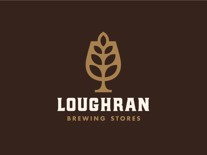 Loughran Brand Identity brand design family logo design brand identity brewing company brand nature brewing store brewing beer symbol icon icon design branding vector graphic logo graphic design