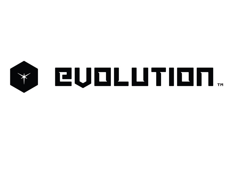 Evolution - Logo Design bigbang axis spark void cube transformers 3d wordmarkdesign wordmark warframe thedarkness startrek evolutionengine evolution aaa digitalextremes gameengine logo logodesign videogames